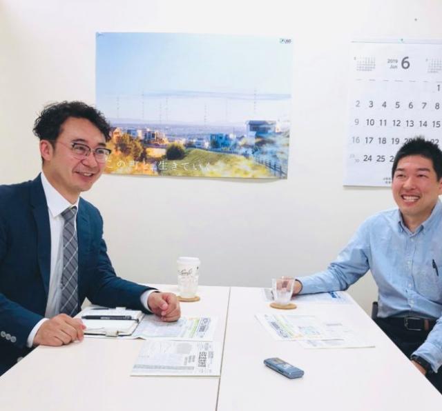 代表・川村が対談インタビュー取材を受けました