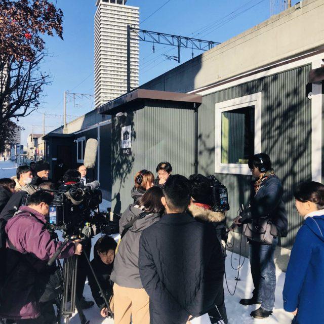 無人ホテル 『JR mobile inn Sapporo Kotoni』内覧会を実施しました