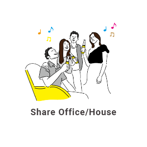 Share Office/House
